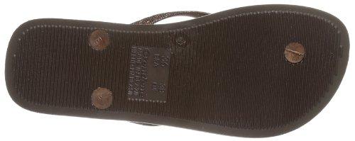 Ipanema 81090, Sandales femme Marron - Braun (brown/bronze 21711)