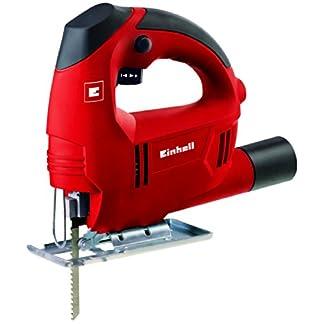 Einhell TC-JS 60 Sierra de calar electronica de 410 W, 240 V, Negro/Rojo