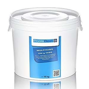 10 Kg - PoolsBest® Chlor Multitabs 5in1, 200g Tabs