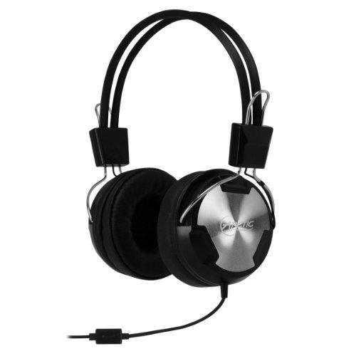 Arctic p402 - cuffia confortevole e dinamica con microfono in-line - headset moderno e leggero per smartphone, tablet e mp3 player