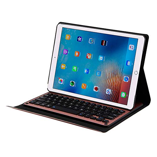 UNOKS Drahtlose Bluetooth-Keyboard, Concealed Bracket, Aluminum Keyboard Case, Super Battery Life, geeignet für Office Entertainment (Ge-licht-schalter)