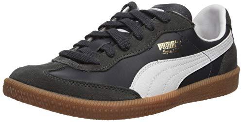 PUMA Herren Super Liga OG Turnschuh, New Navy-White, 43 - Puma Liga Leather