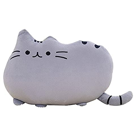 hqclothingbox Big Cat Shaped Throw Pillow Pet Sofa Decorative Cushion