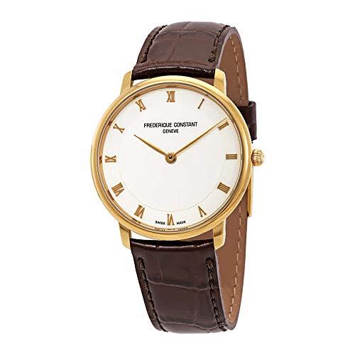 FREDERIQUE CONSTANT Slimline Reloj DE Mujer Cuarzo 39MM FC-200RS5S35