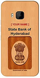 """your Govt ID in remarkable Way with """" Your Name """" Printed on your Apple Apple iPhone 5 / 5S Mobile back cover with your Dept: State Bank of Hyderabad"""