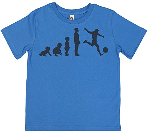 evolution-to-a-footballer-unisex-childrens-t-shirt-7-8-yrs-blue