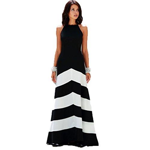 jxloulan-vestido-de-verano-de-las-mujeres-de-costura-delgado-elegante-negro-y-vestido-rayado-blanco-