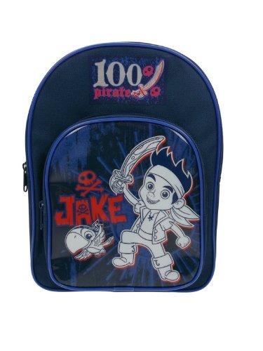 (Jake & Neverland Pirates - 100% Pirat Rucksack (Marine))