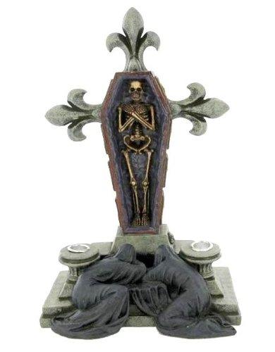 Spiritus Mundi-Porta Candela altare Cross-Gothic Horror
