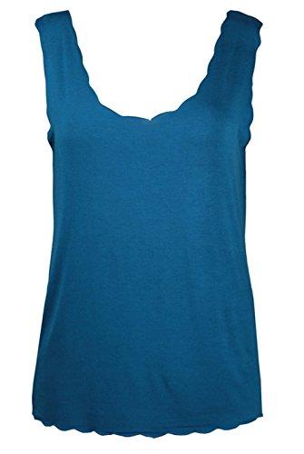 RIDDLEDWITHSTYLE - Débardeur - Femme * taille unique bleu sarcelle