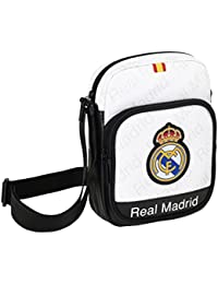 Safta 048330 Real Madrid Bandolera, Color Blanco