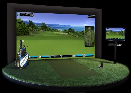 GameChanger 2 Golfsimulator mit Highspeedkameras
