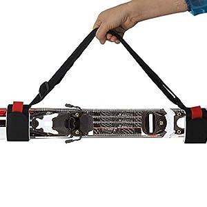 Ducomi® SkiHold–Skiträger für Erwachsene und Kinder, einfach und sicher, für Ihre Ausrüstung.