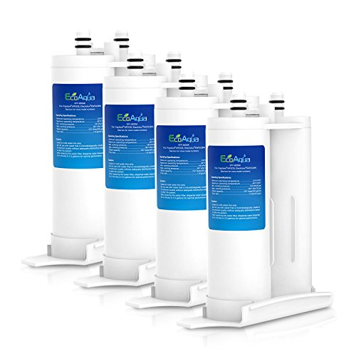 EcoAqua EFF-6029A Kühlschrank Wasser filter kompatibel mit Electrolux Frigidaire WF2CB, FC100, EWF2CBPA, SWF2CB, MB-100, NGFC2000, 53-WF-12FR, 53-WF-12EL; Kenmore 46-9916; John Lewis JLAFFS2007 (4) - Frigidaire-wasser-filter-zubehör