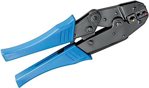 Fixpoint 11790 Crimpzange für Isolierte Kabelschuhe profi Ausführung