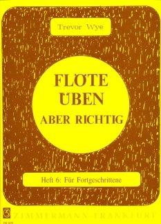 FLOETE UEBEN 6 - FORTGESCHRITTENE - arrangiert für Querflöte [Noten / Sheetmusic] Komponist: WYE TREVOR
