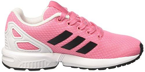 adidas  Zx Flux, Basses mixte enfant Rose (Easy Pink/core Black/ftwr White)