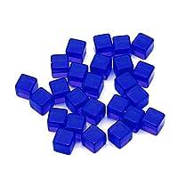Polyhedral Dice Set 25pcs Transparent Dice Acrylic Cube Board Game Kid DIY Fun and Teaching