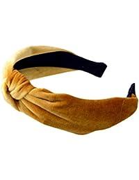 Gusspower Felpa de Ancho Bandas para la Cabeza Nudos Turbante Diademas para Mujeres Niñas,Muchos Colores