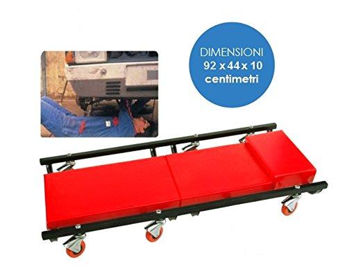 Preisvergleich Produktbild Rollwagen / Servierwagen sottoauto / Unter Auto-mechanisch / Werkstatt mit Matratze und Kopfpolster