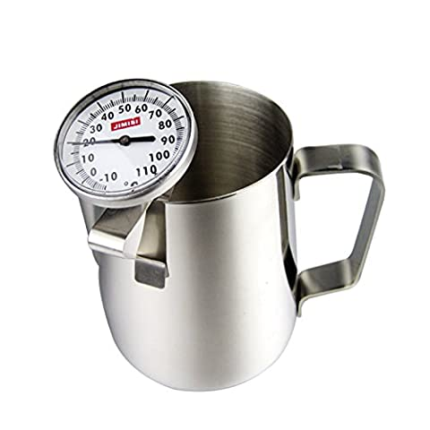 Hot Beverage Thermometers Coffee Latte Espresso Thermometer Stainless Steel Milk Frothing Thermometer