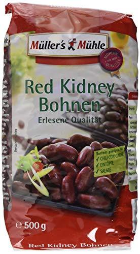 Müller´s Mühle Red Kidney Bohnen, 7er Pack (7 x 500 g)