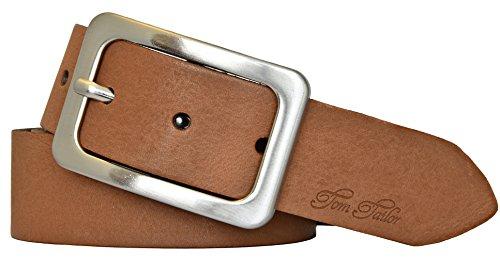 TOM TAILOR Damen Leder Gürtel baileys 35 mm soft vintage Rindleder Damengürtel (105 cm)