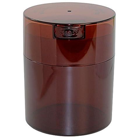 Coffeevac 1/0,9kilogram–L'ultime Emballé sous vide boite à café, Plastique, Coffee Tint Cap & Body, 1/2-Pound