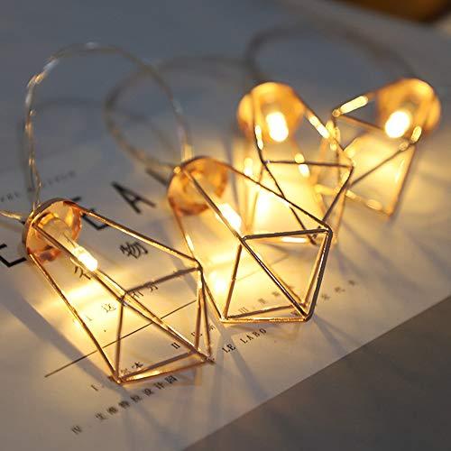 LED Diamant Drop Frame Geometrie mit Weihnachtsbaum Halloween Dekoratives Licht