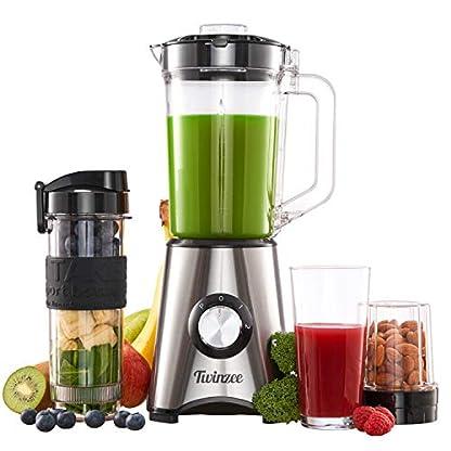 700-W-Multifunktionsmixer-fr-Milchshakes-Blender-Smoothies-Suppen-12-L-Gef-570-ML-2-in-1-Flasche-Mhle-und-4-Klingen-aus-Edelstahl-BPA-Frei