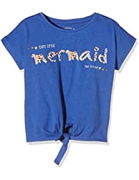 Tom Tailor Kids Knotted Tee with Ocean Print, Camiseta para Niños