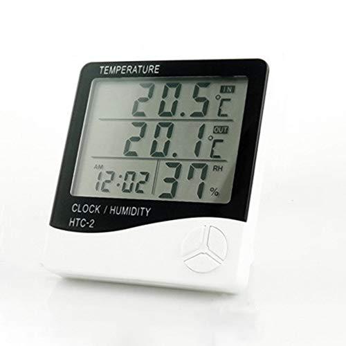 HarveyRudol85 Aquarium Kühlschrank Temperatur und Feuchte-Monitor LCD-Digital-Thermometer