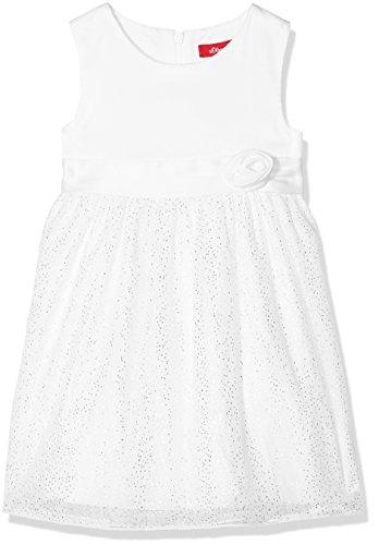s.Oliver Baby-Mädchen Kleid 59.802.82.2769, Weiß (White 0100), 80