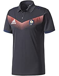 Adidas France 2017/18 - Polo de Rugby Présentation - Punjab/Marine/Blanc