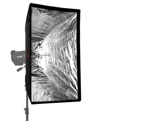 JINBEI K 60x90 cm Umbrella Softbox erweiterbar mit Grids/Waben