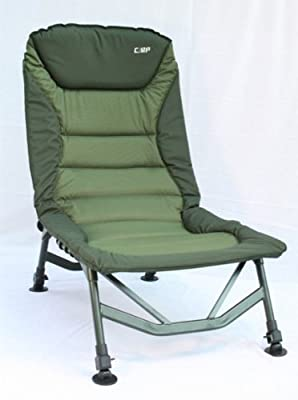 Carp Zone Hi-Back Padded Reclining Carp Fishing Chair from Carp Zone