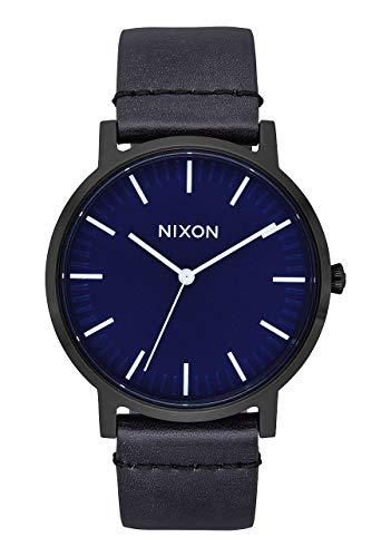 Nixon Unisex Adult Analogue Quartz Watch with Leather Strap A1058-2668-00