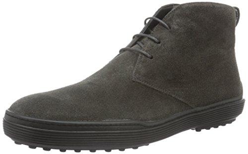TODS - Xxm0Xf0N460Suwb400, Zapatos De Cordones Brogue da uomo, grigio (grigio scuro), 42