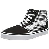Vans WM Ward Hi, Women's Sneakers, Black ((Gingham) black ), 6 UK (39 EU)
