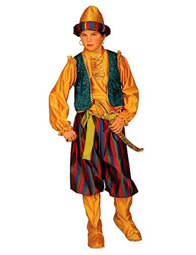 Kostüm Ali Baba - Widmann Kostüm - Ali Baba 'Ei 40 Ladroni - Persisch - M - 8 - 9 - 10 Jahre - Verkleidung - Karneval - Halloween - Kind - Kind