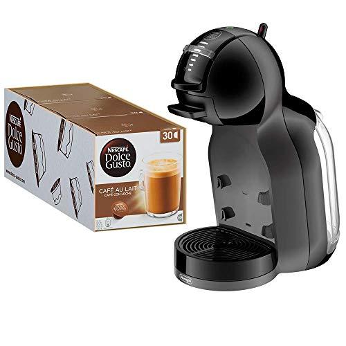 Nescafé Dolce Gusto Café au Lait, Vorratsbox, 3er Pack (3 x 30 Kapseln), Kaffeekapseln, 100%...