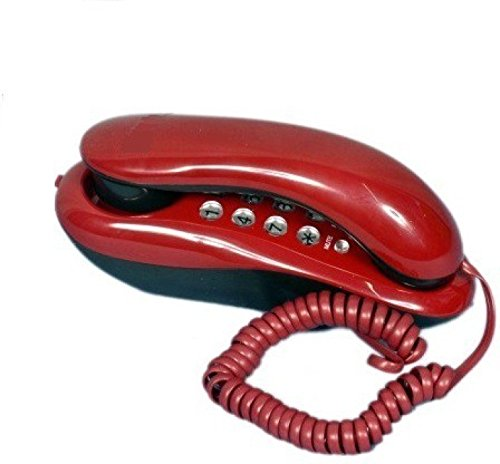Inovera Orientel KX-T333 Greco Button Landline Phone Corded Telephone Phone For Office and Home Purpose (Red)  available at amazon for Rs.369
