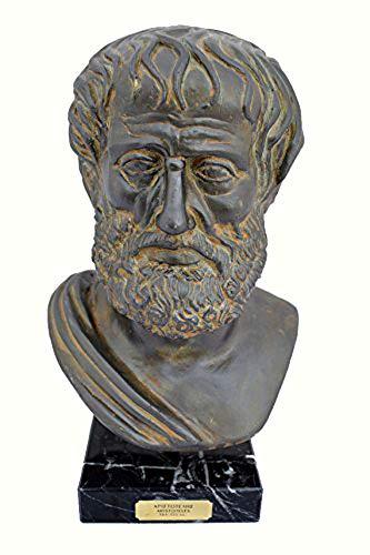 Estia Creations Aristoteles großen Statue Skulptur Antike Griechische Philosophen Brustumfang 384-322V. Chr. -
