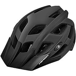 Merida bicicleta casco protector de Psicosis L bicicleta casco protector de Bike Casco, negro