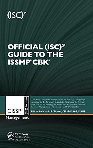 Official (ISC)2® Guide to the ISSMP® CBK® (ISC2 Press)