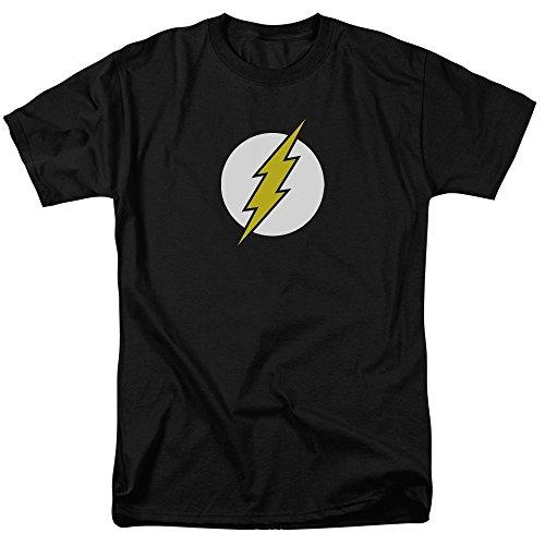 Dc-Maglietta da uomo con Logo Nero