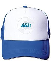 SISINIK Funny Baseball Caps Hats Lets Jazz Wax Big Foam Snapback Caps Mesh  Back Adjustable Cap 493028d9b81