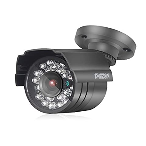 """TMEZON haute résolution 1/3 """"AHD 2.0MP 1080P HD Indoor / Outdoor 24IR LED 65ft 3.6mm Salut-Définition sécurité Jour caméra Night Vision IR doit être utilisé avec AHD DVR"""