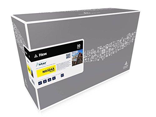 Astar AS13532 Toner kompatibel zu HP NO304A CC532A, 2800 Seiten, gelb -
