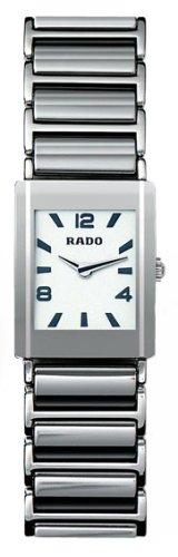 Rado R20488112 - Reloj para mujeres, correa de cerámica color plateado